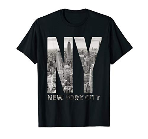 New York City Skyline NYC Manhattan Shirt