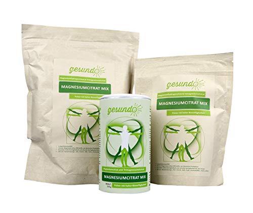 Magnesiumcitrat Pulver Inhalt:1 kg Nachfüllpackung