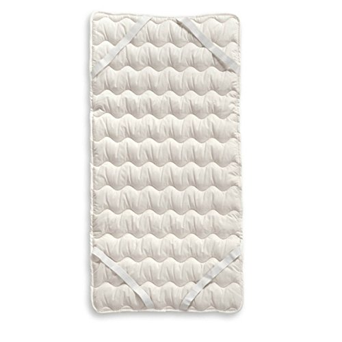 Europe & Nature 29267  Surmatelas  Organique Firm Coton Bio Blanc 140 x 200 x 2 cm