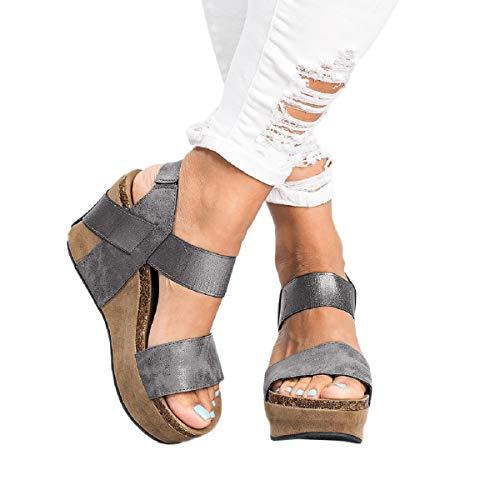 Sandalias Mujer Verano 2019 Zapatos Puntera Abierta