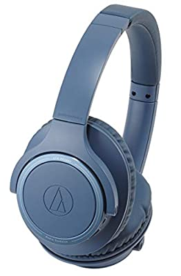 Audio-Technica ATH-SR30BT Wireless Headphones - Blue