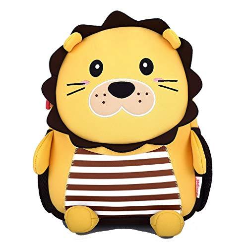 QAZWSXD Kindergarten Rucksack Kinder Schultasche Dreidimensionale Löwe Persönlichkeit Geschenk Männer Und Frauen Outdoor Strandtasche Wasserdicht