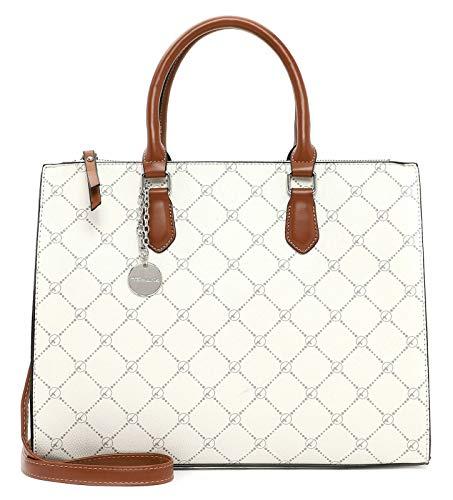 Tamaris Shopper Anastasia 30709 - Bolso de mano para mujer, color Gris, talla Einheitsgröße