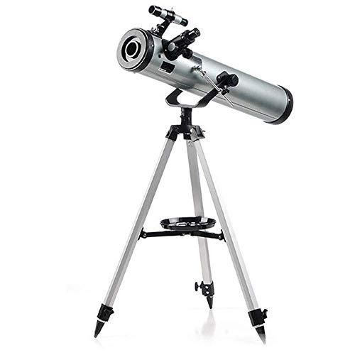 ROM Binoculares 35-525 Veces Astronotelescopio Gris Plateado HD Estudiantes Mundo Adulto Monocular buscador de Doble Uso