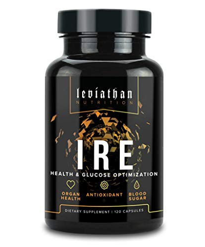 Leviathan IRE Complete Health Support - Clinical Strength Immune Support, Anti Inflammation & Anti-Oxidant Support with Longvida Optimized Curcumin, Astaxanthin, Berberine, and NAC