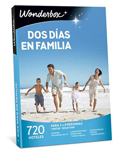 WONDERBOX Caja Regalo -Dos DÍAS EN Familia- 720 hoteles inolvidables para Cuatro Personas