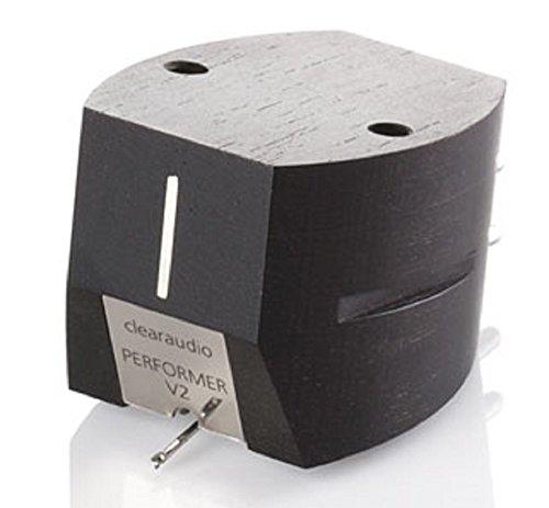 Clearaudio Performer V2 Ebony hi-output MM Phono Cartridge with Ebony Body
