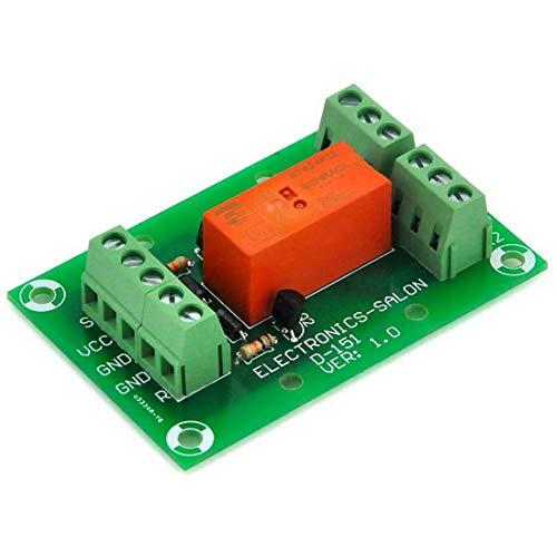 ELECTRONICS-SALON matemáticas/de 8 Amp para óxido de módulo de relé DPDT, DC12V bobina, Tyco RT424F12