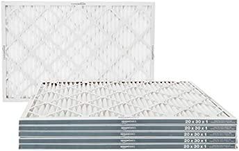 Amazon Basics Merv 11 AC Furnace Air Filter - 20'' x 30'' x 1'', 6-Pack