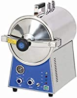 GoDen 高温蒸気滅菌器 小型オートクレーブ 24L 高圧 消毒 滅菌 TM-T24J