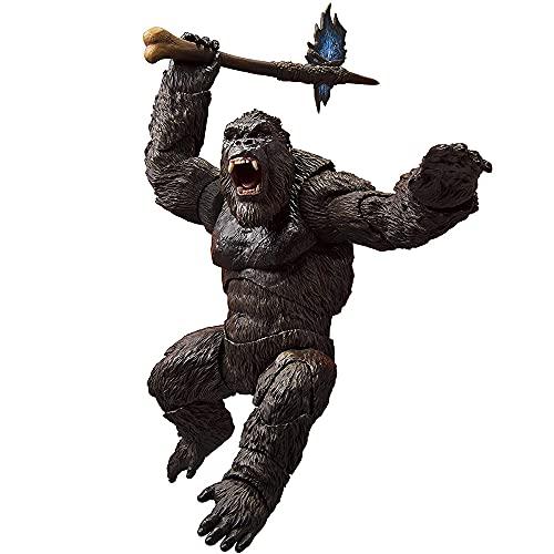 King Kong VS Godzilla 30CM Figura 2021 Modelo de animación Colección de Figuras de acción Juguete Regalo de cumpleaños Figura Figura Orangután Mono Película Juguetes Muñeca