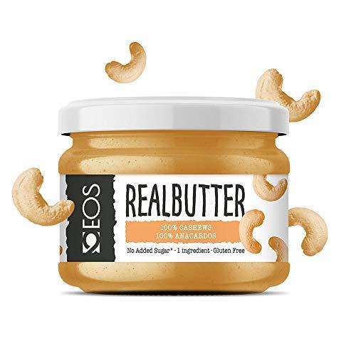 EOS - Crema de Anacardo Suave - Mantequilla de Anacardo Natural 200 g
