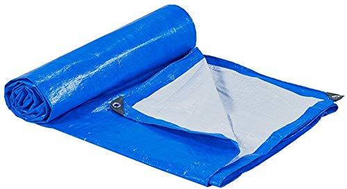 Tarpaulin impermeable a prueba de agua Tarpa de lona de servicio pesado, impermeabilización al aire libre para embarcaciones, automóviles o vehículos de motor, tela a prueba de lluvia y espesor de pro