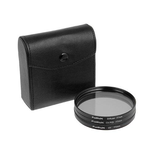 Fotodiox Filter Kit, UV, Circular Polarizer, Soft...