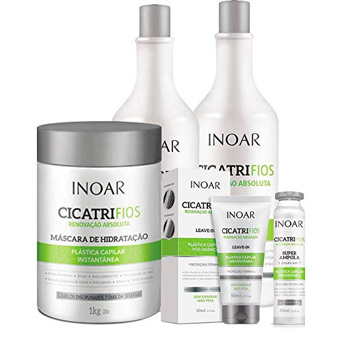 Kit Inoar Cicatrifios Completo (5 Produtos)