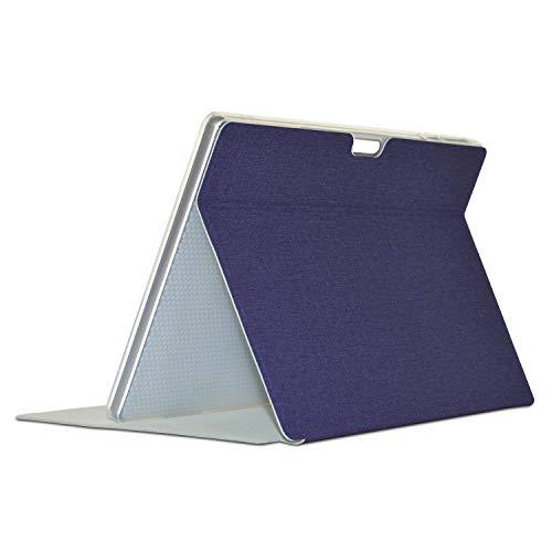 Luntus Funda de PU para Tableta para Teclast M30 / M30 Pro Funda con Tapa para Tableta de 10,1 Pulgadas Soporte para Tableta (Azul)