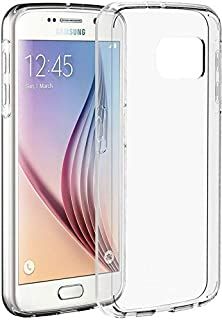 Galaxy S6 - Clear Soft TPU Case Cover Crystal for Samsung Smart Phone - HD Transparent Clear