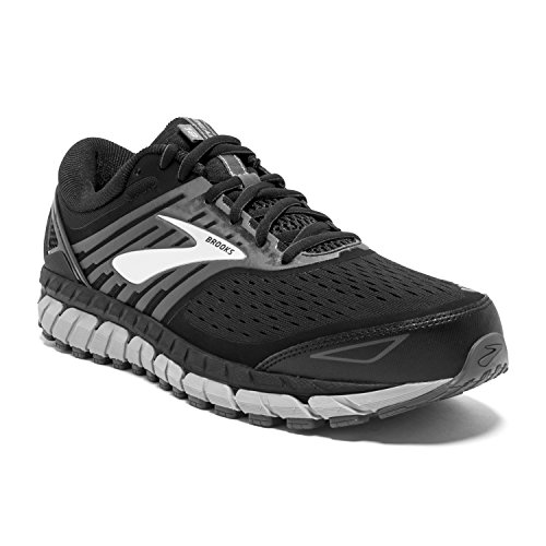 Brooks Mens Beast '18 - Black/Grey/Silver - 11.5-4E X-Wide
