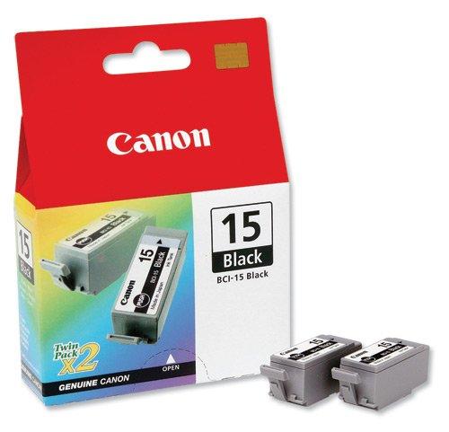 Original Canon 8190A002 / BCI-15BK Tinte Black für Canon Pixma IP 90 V