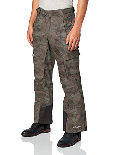 Columbia Sportswear Men's Ridge 2 Run II Pant, Surplus Green Digi Print, LxS