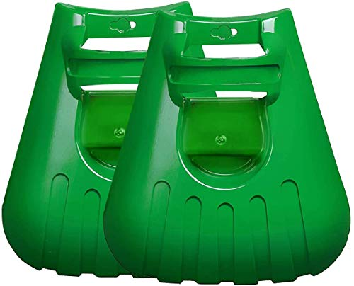 iRunning Large Leaf Scoops Hand Held Rake Claws, Garden Yard Rakes for Picking up Leaves, Grass Clippings and Lawn Debris