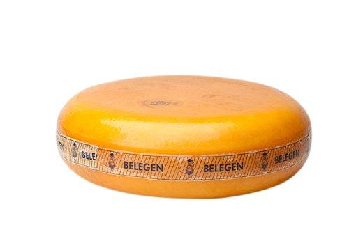 Gereifter Gouda Käse | Premium Qualität | Ganzer Käse - 12 kilo