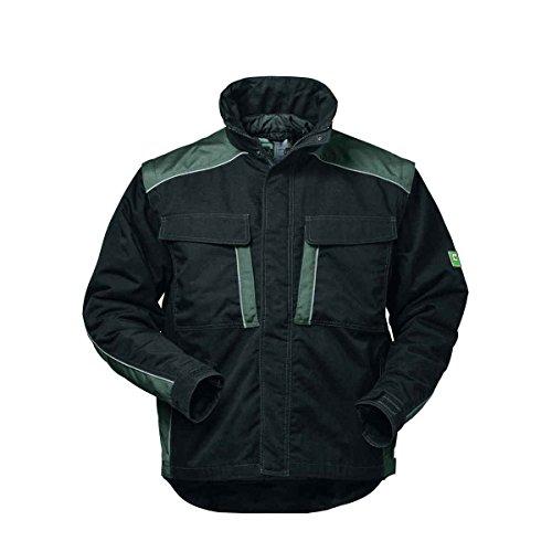 Elysee Canvas Winterjacke Arbeitsjacke Outdoorjacke, hochwertig mit vielen Taschen (4XL, Schwarz/Grau)