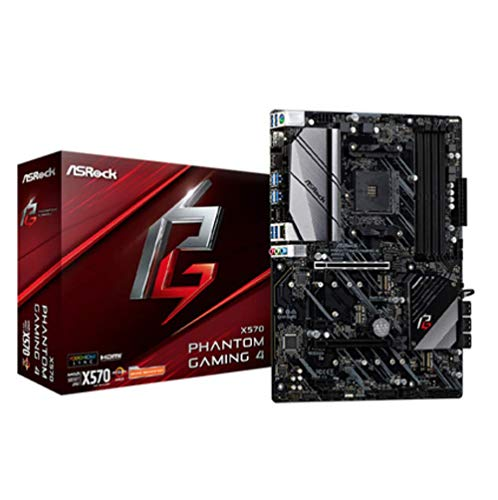 Binglinghua - Placa base de sobremesa para ASRock X570 Phantom Gaming 4 AM4 AMD X570 SATA 6Gb/s ATX AMD