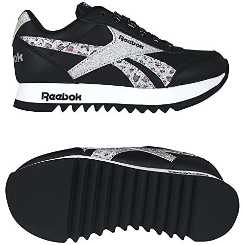 Reebok Royal CLJOG 2 Platform, Zapatillas de Running, NEGBÁS/Plamet/FTWBLA, 35 EU