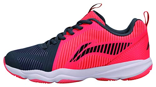 Li Ning AYTN062-2 Ranger TD Badmintonshoe/Casual Shoe Women Neon Red/Black Gr.36 1/3 US 6