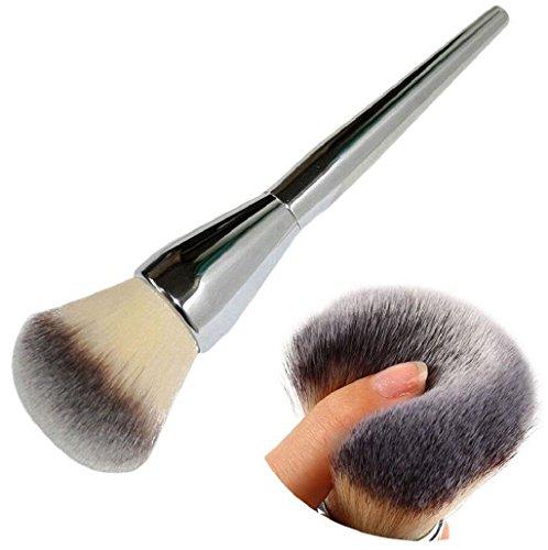Brocha de maquillaje,VENMO Pincel de maquillaje profesional corrector en polvo (plata)
