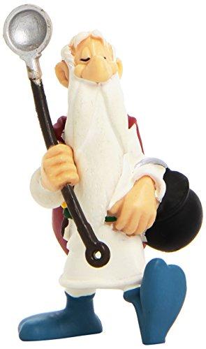 Plastoy- Astérix Figura Panoramix con Marmita, Color Blanco (PLA60504) 1