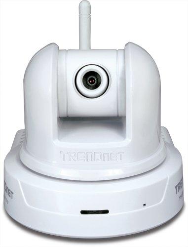 TRENDnet Wireless Pan/Tilt/Zoom Internet Surveillance Camera, TV-IP410W