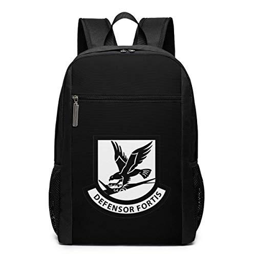 ZYWL Air Force Security Forces Laptop Rucksack, Reiserucksäcke School College Bookbag für Frauen und Männer 17 Zoll
