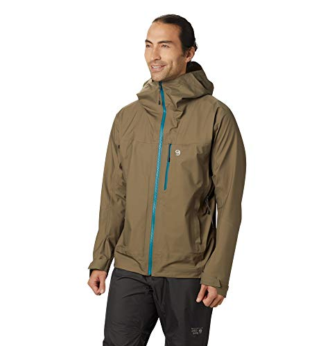Mountain Hardwear Men's Exposure/2 Gore-TEX 3L Active Jacket, Darklands - M