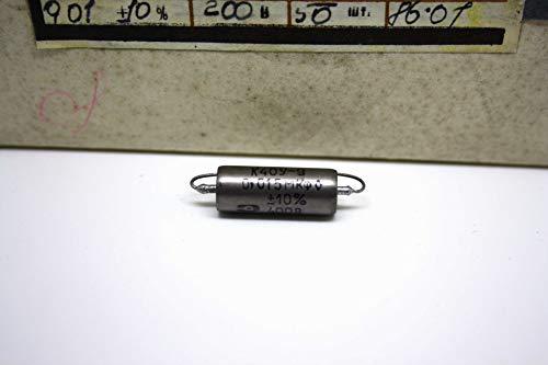 K40Y-9 Condensador Capacitor 0.015uF 400V papel en aceite PIO para bajo y...