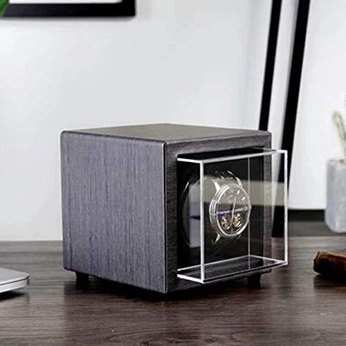 Caja de Reloj Mini Agitador mecánico automático Devanadera de Reloj Eje basculante Giratorio Caja de enrollador de Instrumentos Caja de Reloj Cajas de