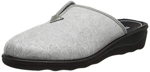 Romika Damen Romisana 91 Pantoffeln, Grau (Grau-Kombi 711), 43 EU