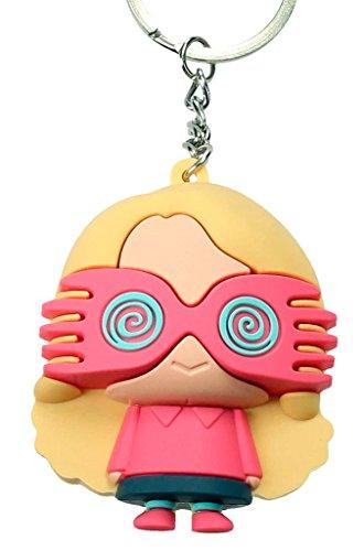 SD Toys- Llavero figurativo de goma Luna Lovegood (SDTWRN20455)