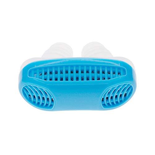 Preisvergleich Produktbild 2 in 1 Anti-Schnarch Hilfsmittel - Nasendilator für sofortige Befreiung vom Schnarchen und komfortablen Schlaf