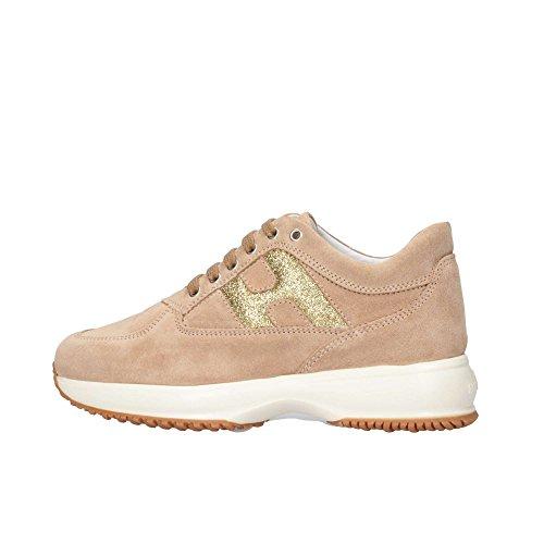 Hogan Junior HXC00N00241FTY0K97 Sneaker Kind beige 31
