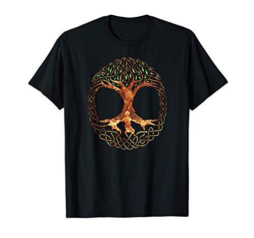 Celtic Tree of Life Religion, gaelic, yggdrasil, sacred tree T-Shirt