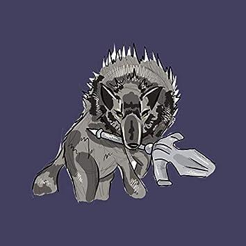 great grey wolf sif (dark souls lofi)
