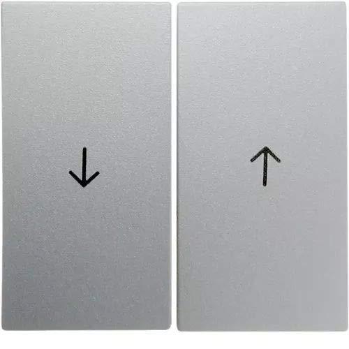Hager Jalousie B1–doppelte Taste Pfeile für Aluminium