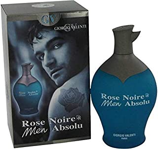 Rose Noire Absolu By: Giorgio Valenti, Men's 3.3 oz EDT -Free Gift Included-