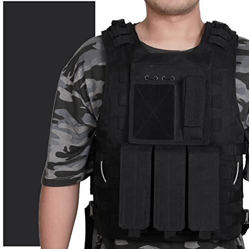 WOLIORS Gilet Tactique Ventilateur Veste de Combat pour Chasse Airsoft Cosplay