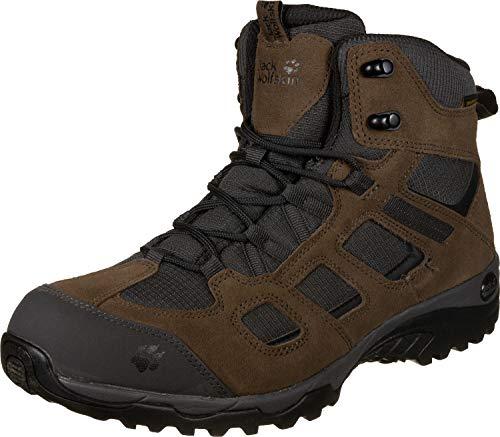 Jack Wolfskin Herren Vojo Hike 2 Texapore MID M Wasserdicht Trekking-& Wanderstiefel, Braun (Dark Wood 5690), 39.5 EU