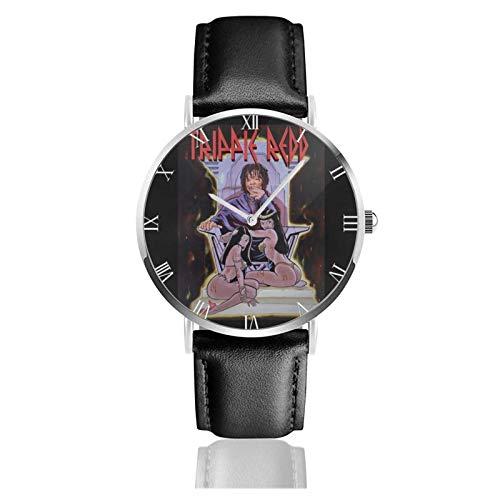 Orologio da Polso al Wrist Watch Analogue Quarzo con Cinturino in PU Watches Trippie Redd Una lettera d'amore per te