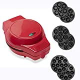 zxyy marée rouge multi assiettes en option machine à gâteaux électrique mini manuel professionnel