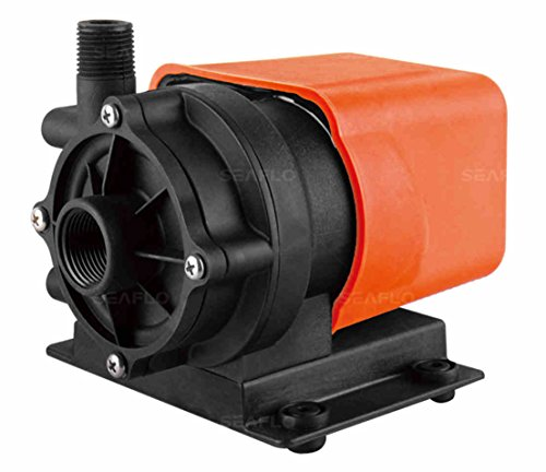 SEAFLO Marine Air Conditioner Magnetic Drive Raw Water Circulation Pump 500 GPH 115V Submersible